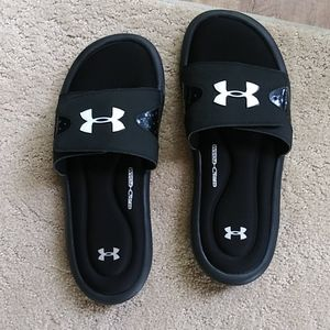 Under Armour youth slides / sandals